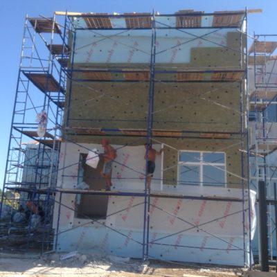 Наши работы по вентилируемому фасаду