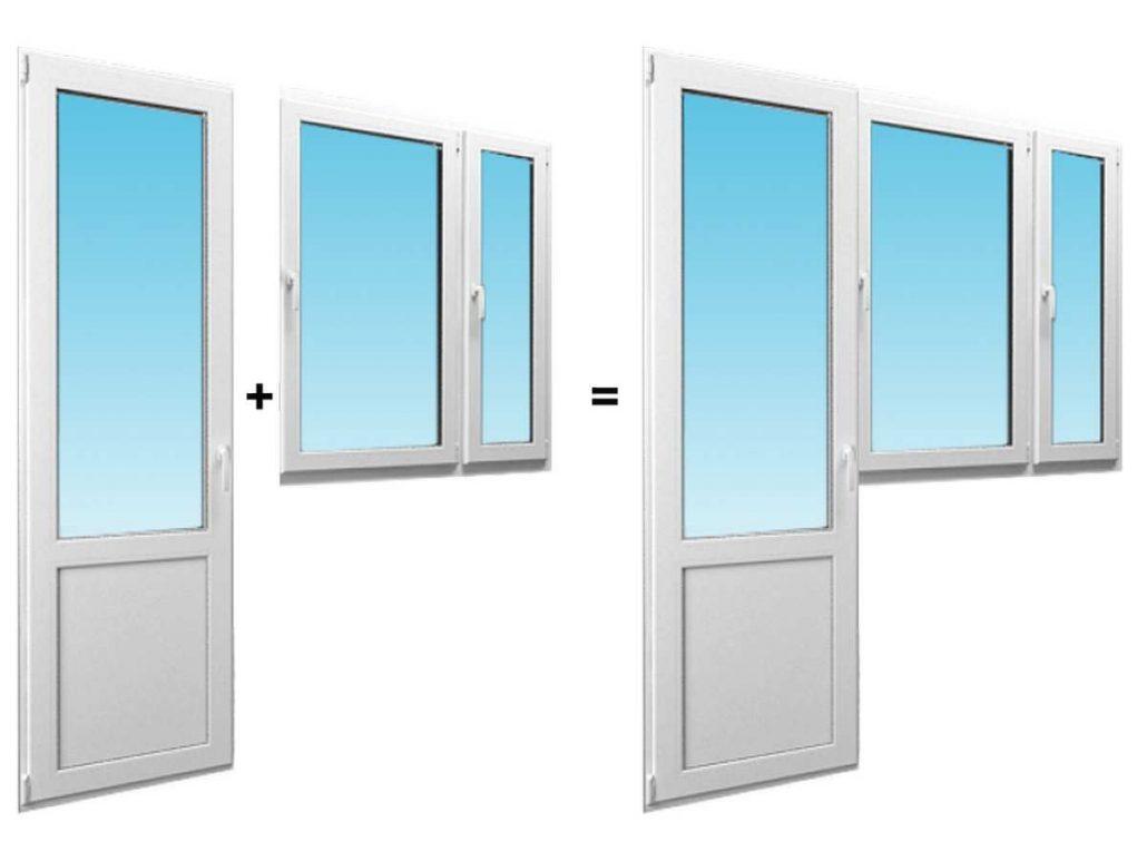 Монтаж окон и дверей