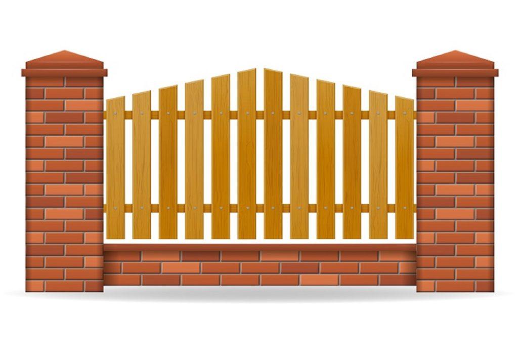 Благоустройство и забор